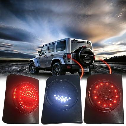 amazon com firebug jeep wrangler rear led lights jeep wrangler led rh amazon com