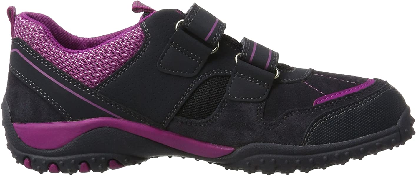 SUPERFIT Sport 4 Girls Kids Purple//Pink Leather /& Fabric Trainers Shoes 100224