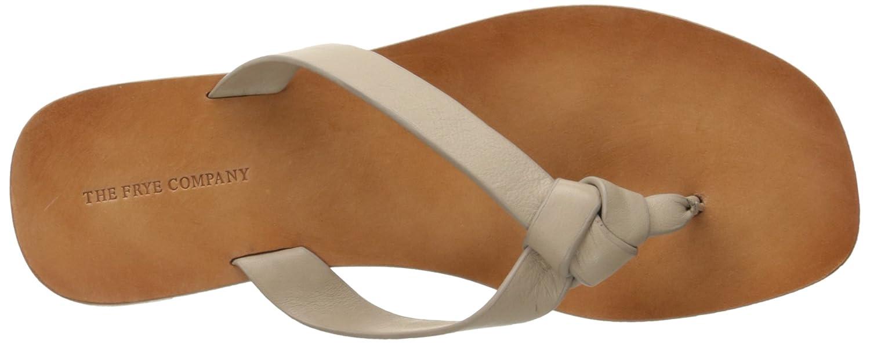 0c43a7cb0 Amazon.com  FRYE Women s Perry Knot Thong Flat Sandal  Shoes