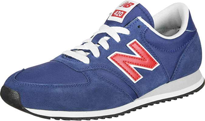 New Balance 420 u, Zapatillas para Hombre, Azul (Moroccan Tile/Team Red Mtr), 39.5 EU: Amazon.es: Zapatos y complementos