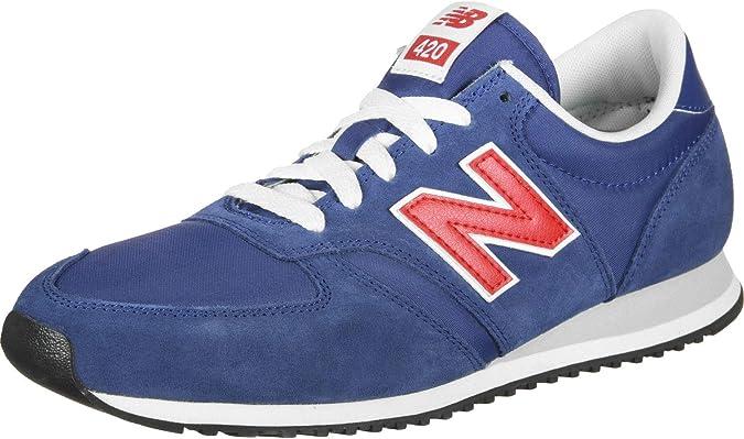 New Balance 420 u, Zapatillas para Hombre, Azul (Moroccan Tile/Team Red Mtr), 39.5 EU: Amazon.es: Zapatos y complementos