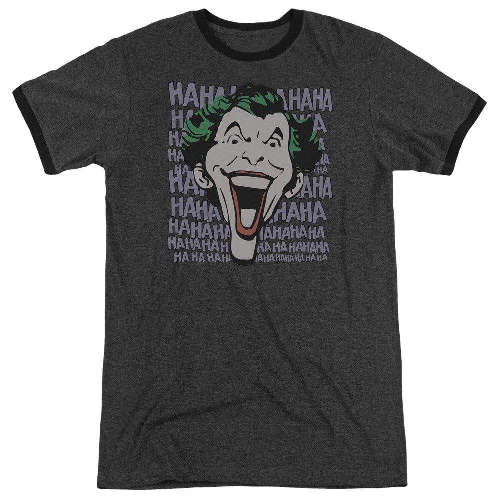 Dastardly Merriment Adult Ringer T Shirt DC Comics