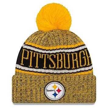 New Era NFL Pittsburgh Steelers 2018 Sideline Reverse Sport Knit ... a026b67f9
