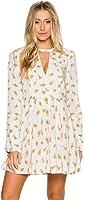 Free People Women's Tegan Long-Sleeve Floral Printed Mini Dress