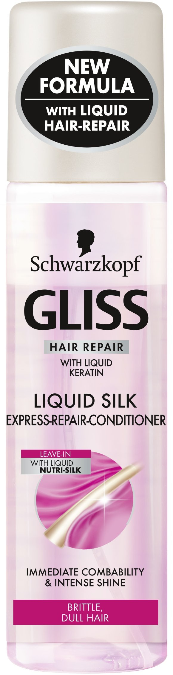 Schwarzkopf Gliss Liquid Silk Express Repair Conditioner 200ml