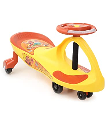 Motu Patlu Swing Scooter Yellow Red Amazon In Toys Games