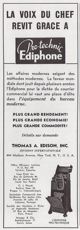 Amazoncom 1937 Print Ad Thomas A Edison Inc NY Protechnic