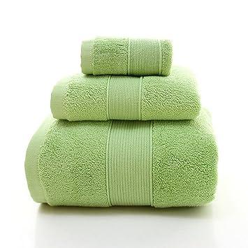 Maison Jardin Casa jardín conjunto de toallas de baño 3 piezas incluidos 1 toallas de baño
