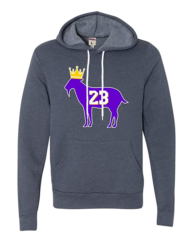Adult Goat James G.O.A.T. King Deluxe Super Soft Sweatshirt Hoodie