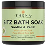 Amazon Price History for:Best Organic Sitz Bath Soak For Natural Postpartum Care Recovery & Hemorrhoids Relief, 19+1 Extra Healing Safe At-home Treatment, Soothe Pain or Discomfort, Epsom & Dead Sea Salts Lavender Oil, 16 Oz