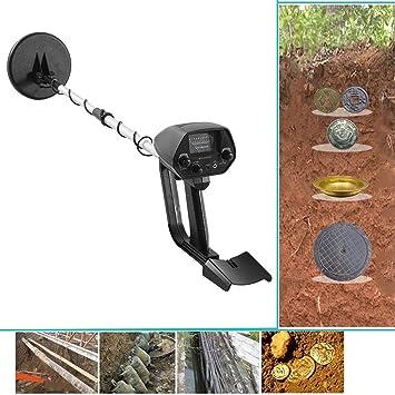Haol Detector De Metales Subterráneo Ligero Portátil MD-4030 del Perseguidor del Tesoro: Amazon.es: Deportes y aire libre