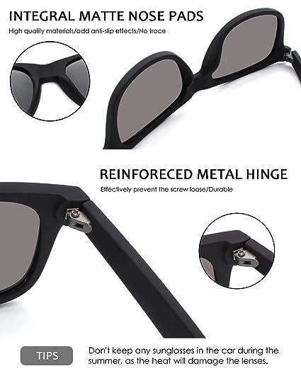 GQUEEN Unisex Caminante gafas de sol polarizadas GQF0: Amazon.es: Ropa y accesorios