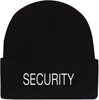 d442365e Amazon.com : Rothco Embroidered Security Acrylic Skull Cap : Sports ...