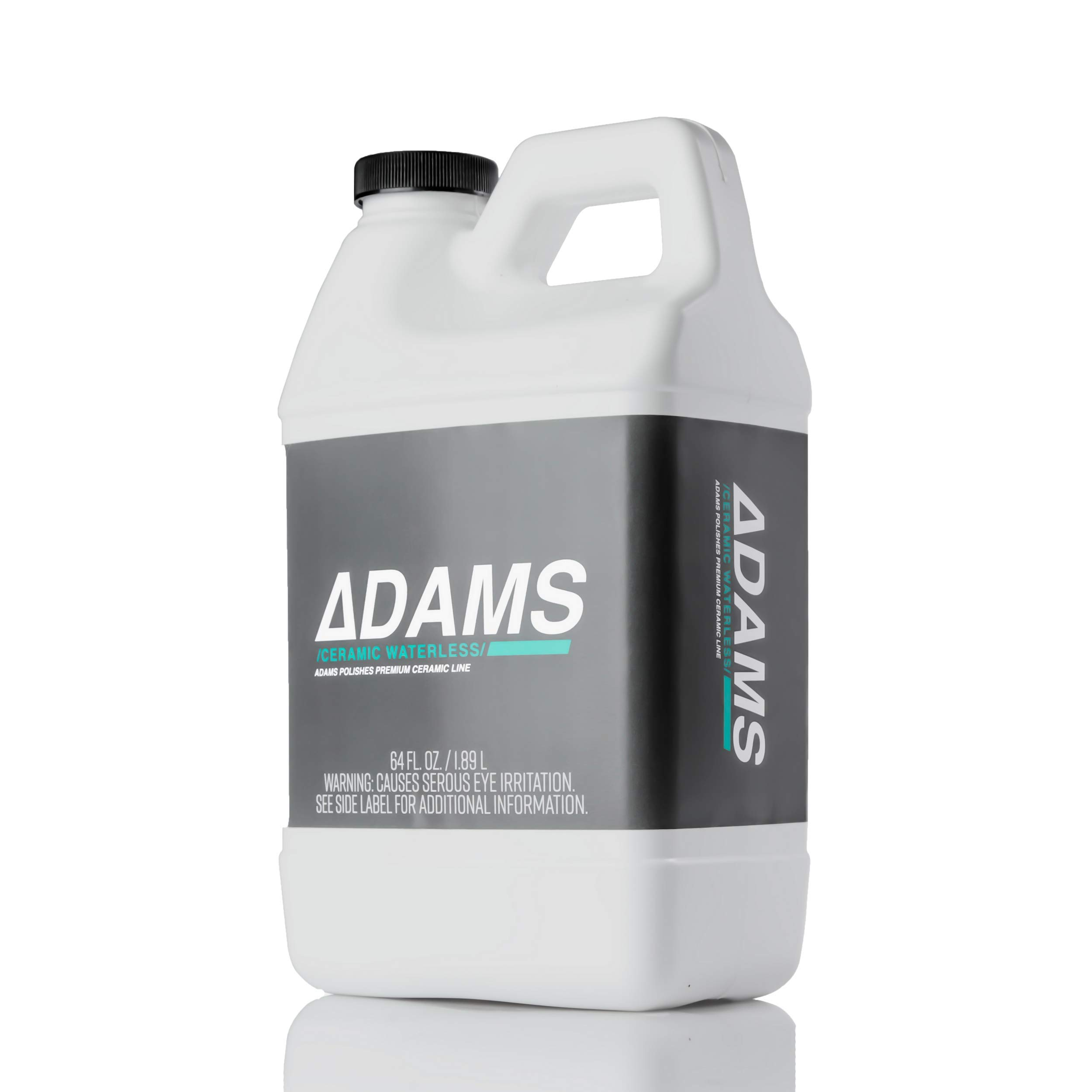 Adam's Ceramic Waterless Wash - Clean & Boost The Ceramic Nano Paint Protection of Boat, RV, Truck & Motorcycle - Hydrophobic Top Coat Cleaner & Sealant to Extend The Life of Ceramic Coatings (64 oz) by Adam's Polishes