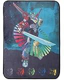"Dreamworks Voltron Plush Throw Blanket - 46"" x 60"""