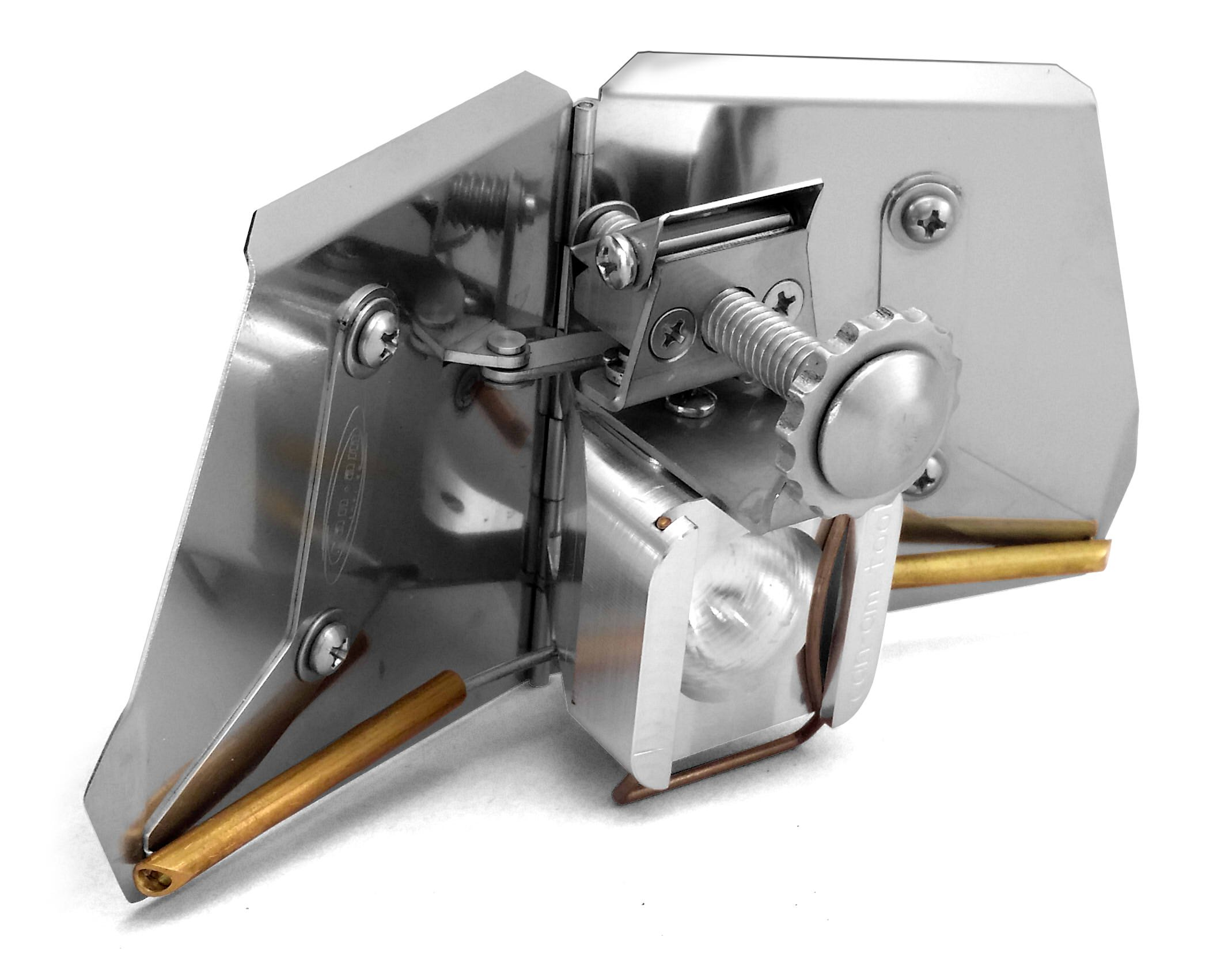 CanAm Tool B1400 Accu-Just Corner Flusher 3.5 Inch - Specially Designed For Finishing Any Inside Angle On Skim Coats