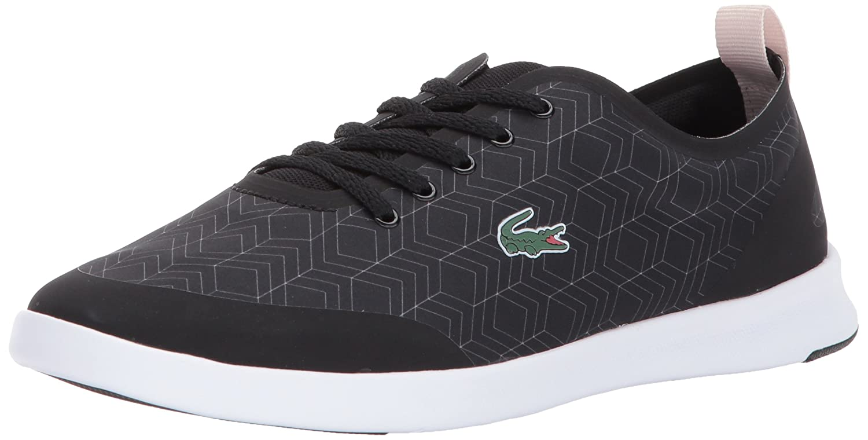 Lacoste Women's Avenir 417 2 Sneaker B06ZYSKV82 10 B(M) US|Black