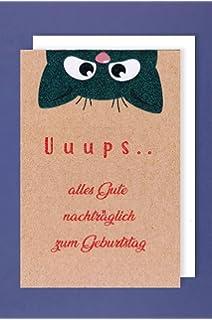 Grusskarte Zum Geburtstag Nachtraglich Von Depesche