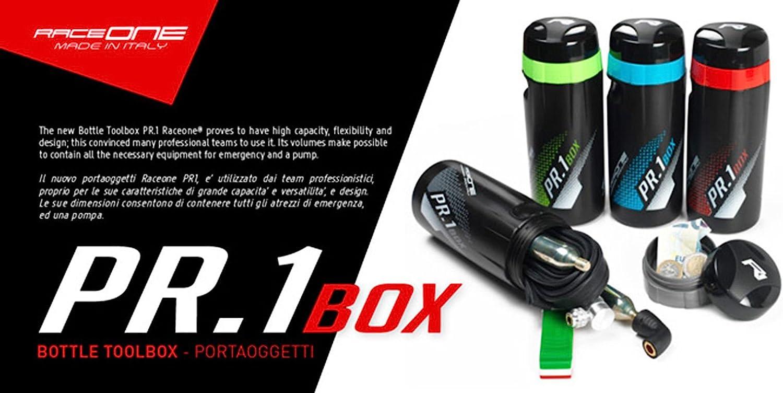 Bidon RACEONE PR1 BOX TOOLBOX para Herramientas de Bicicleta Negro ...