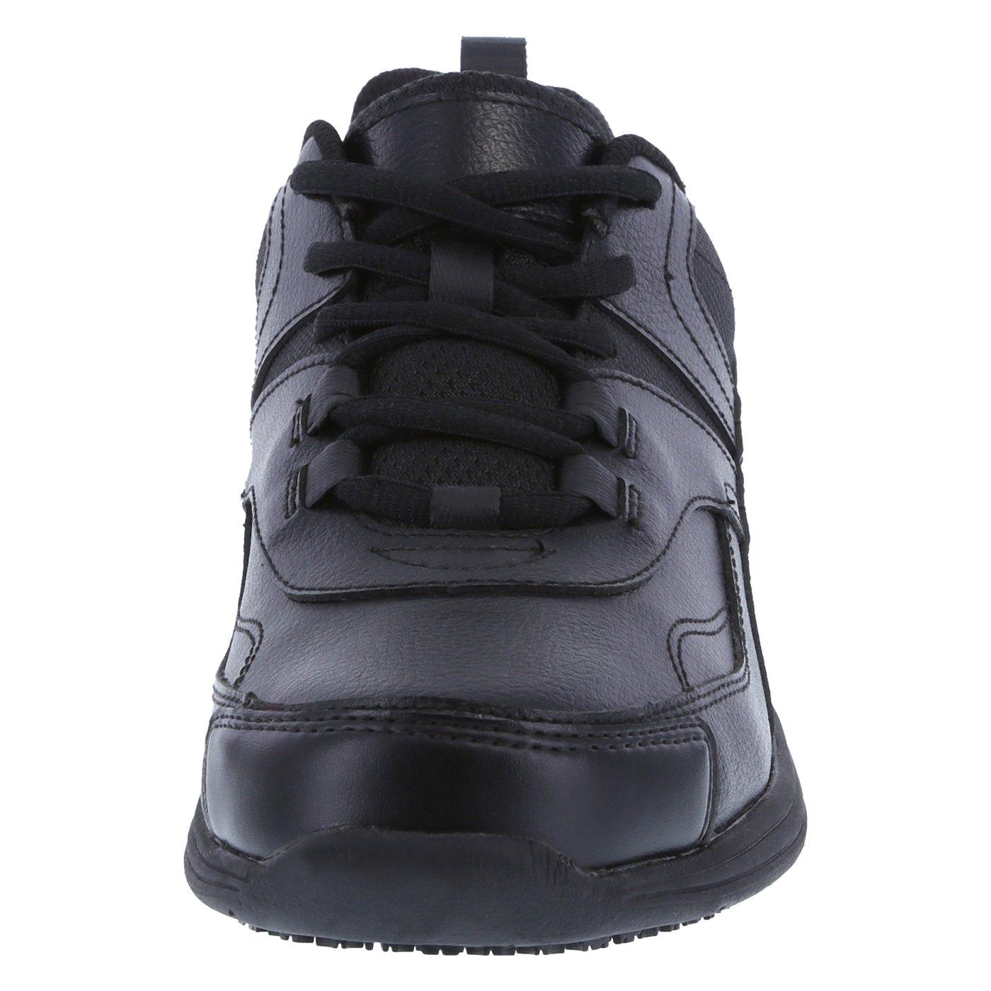 safeTstep Slip Resistant Women's Black Women's Athena Sneaker 7 Regular by safeTstep (Image #4)