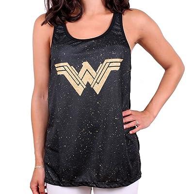 cotton division Debardeur Wonder Woman Femme - Splash