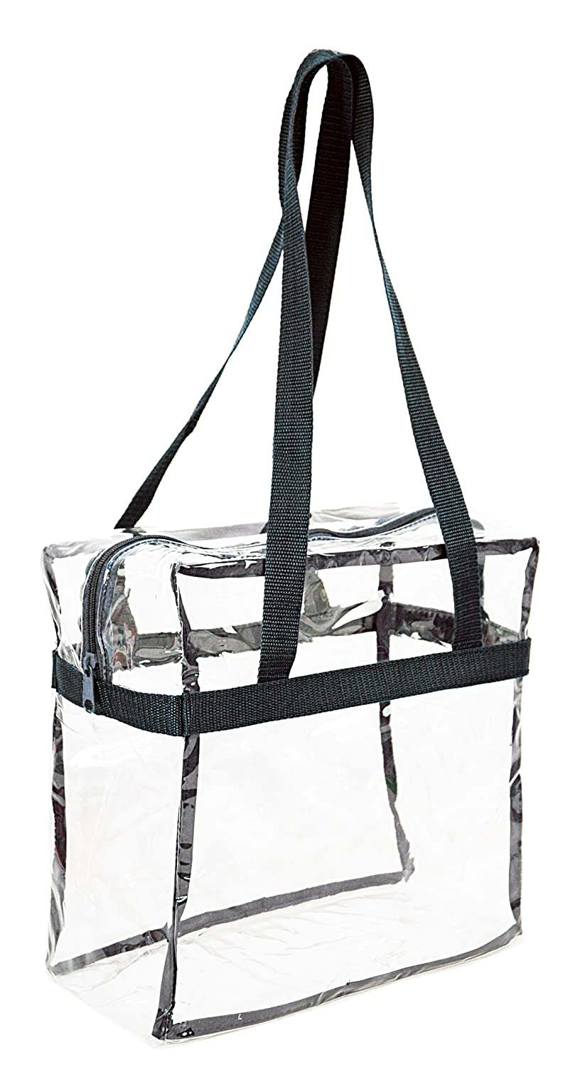 b1f32315906 Amazon.com  Clear 12 x 12 x 6 - NFL Stadium Approved Tote Bag with 35