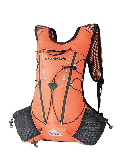 TRANGO Mochila Rx15, Unisex Adulto, (Naranja Fluor/Gris), 36x24x45 cm: Amazon.es: Zapatos y complementos