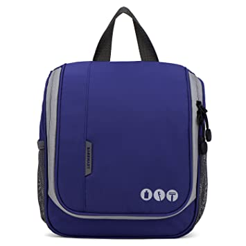 264d681dd23d Amazon.com   BAGSMART Hanging Travel Toiletry Bag Makeup Organizer Cosmetic  Bag   Beauty