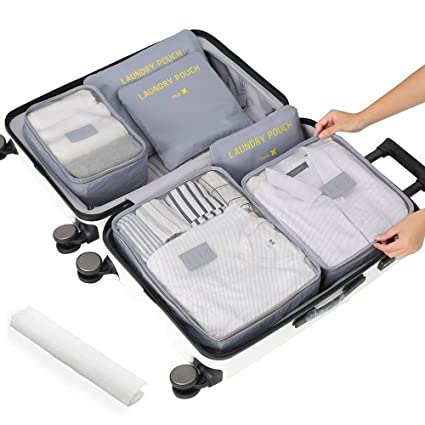 7dfe901ced20 Travel Luggage Packing Organizer, Packing Cubes, Luggage Organizer Bag,  Travel Bag for Packing, Luggage Cube, Suitcase Pouch, Laundry Pouch Travel  ...