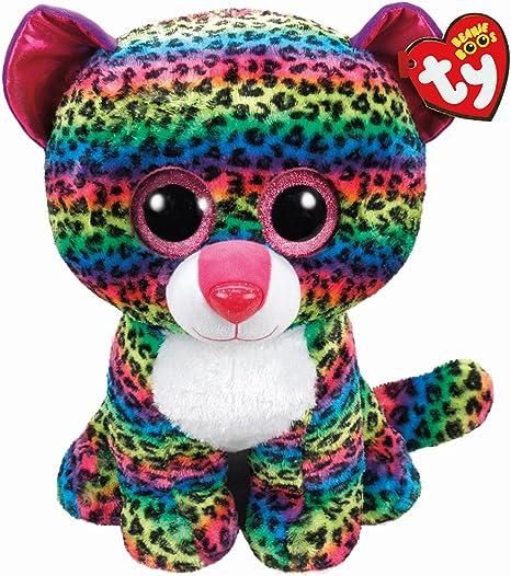 TY T99997 Dotty - Peluche de Leopardo con Ojos Brillantes, 72 cm, Multicolor: Amazon.es: Juguetes y juegos