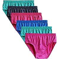 Elk Women's Cotton Brief Underwear - Pack of 6