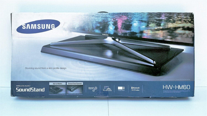 Samsung hw-hm60 80 W 4.2 canal inalámbrico Bluetooth sonido de audio Soporte (Certificado Reformado): Amazon.es: Electrónica
