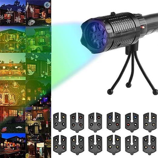 MOOSAGE Trípode portátil Linterna de la proyección del proyector ...