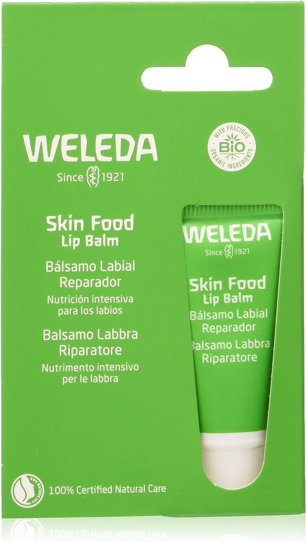 Weleda Pack Skin Food Lip Balm Balsamo Labial 6Udx8Ml. 50 g