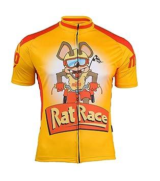 MIMO DESIGN men's cycling jersey RAT RACE size XXL: Amazon co uk