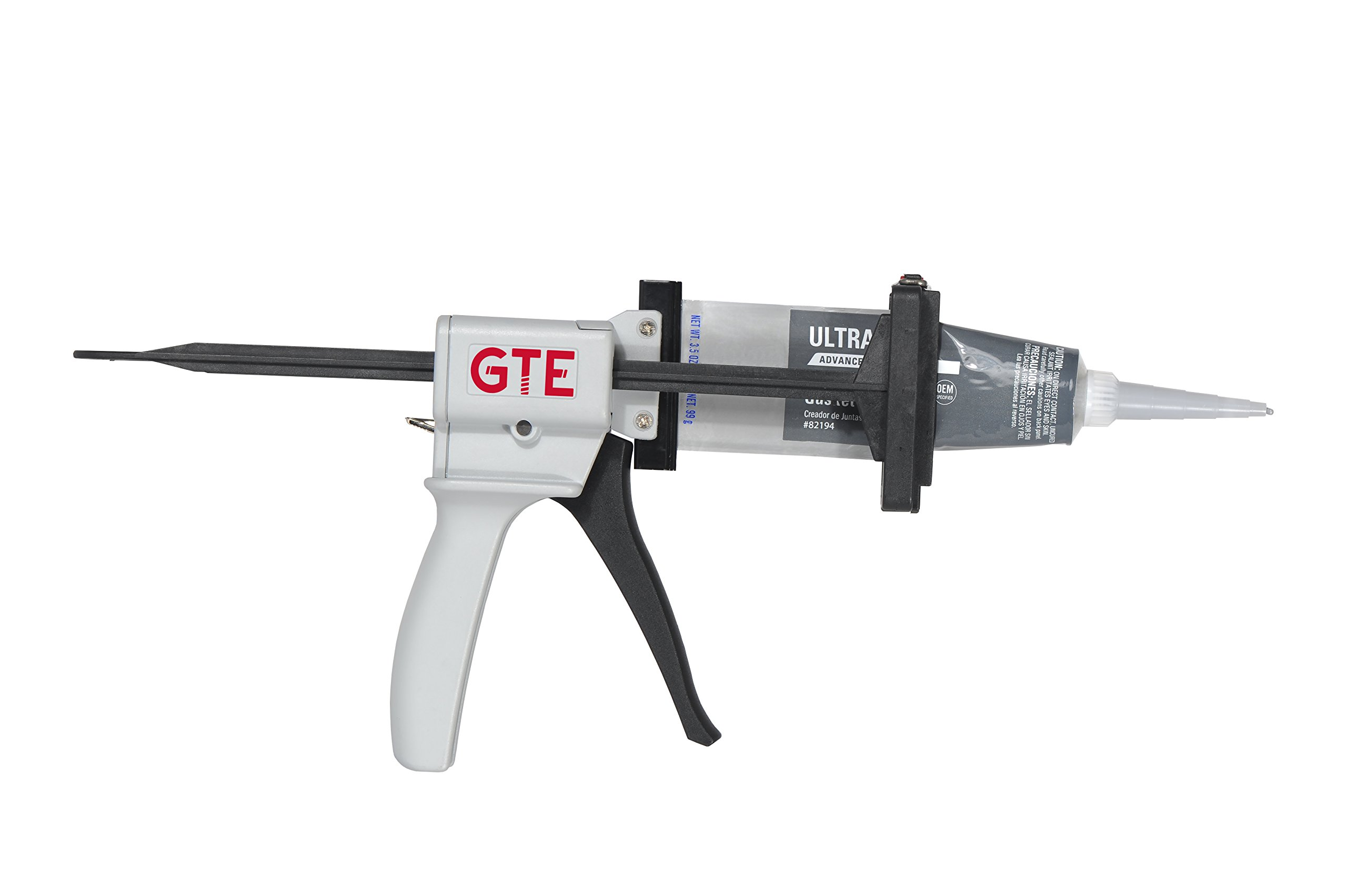 GTE Tools MasterBead Professional Adhesive or Silicone Dispenser Gun for Aluminum Tubes up to 2.5'' Automatic Reload Smooth Trigger Action Highest Rated Dispenser Gun by Professional Technicians