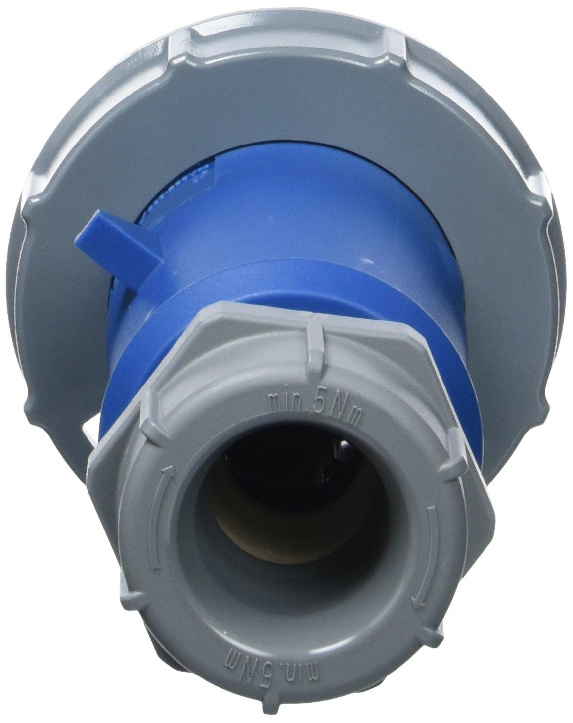 32/A protezione IP 67 230/V blu 6/ore Earth posizione corrente 3/poli Mennekes 290/amv-top singola parte del corpo Plug