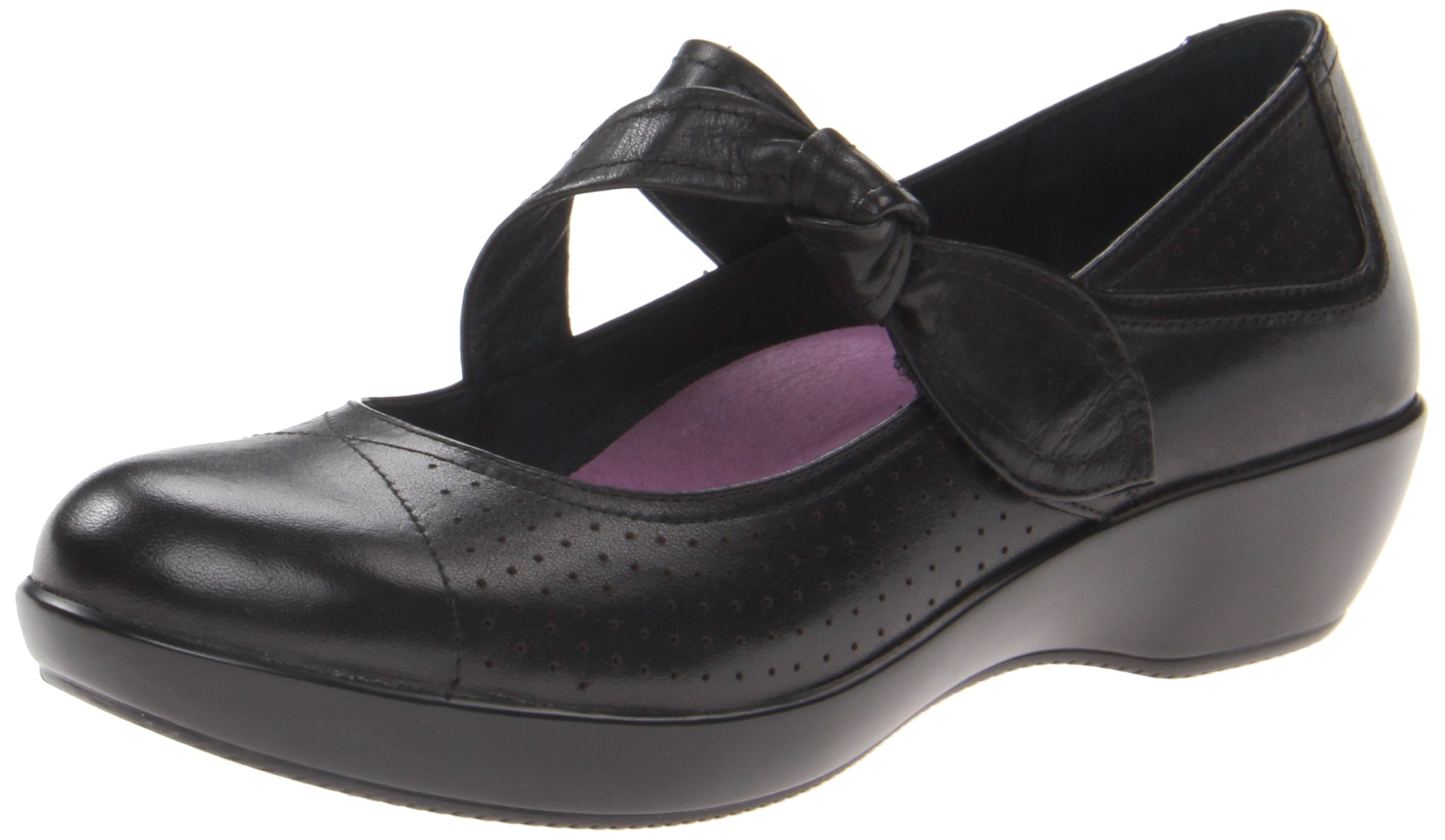 Dansko Women's Deidra Mary Jane Flat,Black,37 EU/6.5-7 M US by Dansko