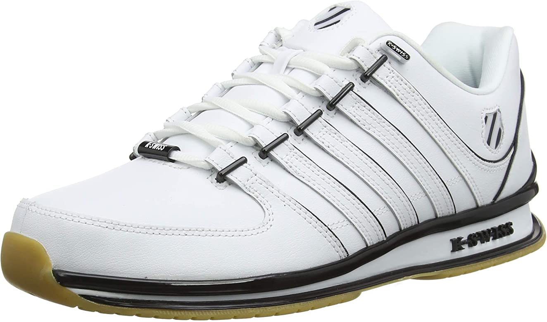 K-Swiss Rinzler SP, Zapatillas para Hombre, Blanco (White/Black/Gum 168), 42 EU: Amazon.es: Zapatos y complementos
