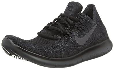 online store d43f0 672be Nike Mens Free Rn Flyknit 2017 Low Top Lace Up Trail, Black Anthracite,  Size 7.0  Buy Online at Low Prices in India - Amazon.in