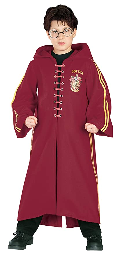 Amazon.com: Harry Potter Childs Deluxe Quidditch Robe ...