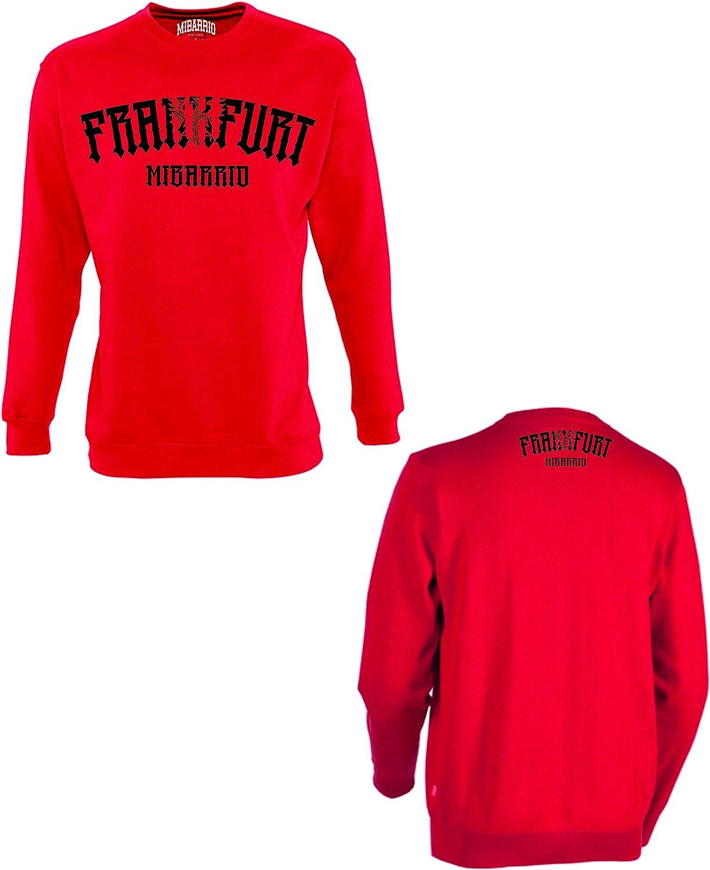 Mi Barrio Frankfurt Adler 1 Sweatshirt, grau, schwarz, weiß, rot Rot