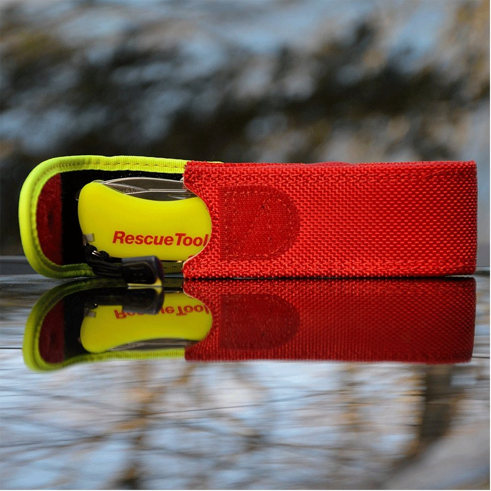 Victorinox Swiss Army Rescue Tool Pocket Knife with Pouch + Pocket Knife Sharpener + Cleaning Cloth - Top Value Bundle! (Fluorescent Yellow) by Victorinox (Image #7)