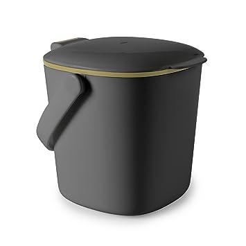 OXO - Good Grips Küchenabfalleimer Komposteimer, Plastik, Grau ...