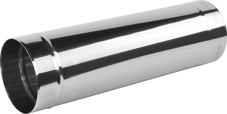 Stainless Steel Chimney Flue Liner / Length - 0.5 meter / Rigid Pipe Ducting Tube (160mm) Armar KJ02/160