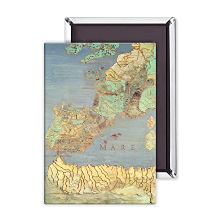 Map Of North West France.Map Of France Spain And North West Africa 3x2 Inch Fridge