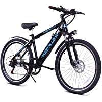 Goplus 26inch Electric Mountain Bicycle EBike Speed with Removable Lithium Battery 350W 36V Black