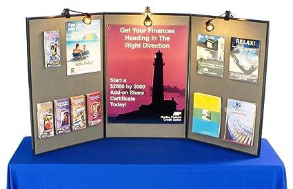 Exhibition Display Boards : Amazon.com : tri fold double sided exhibition display board with