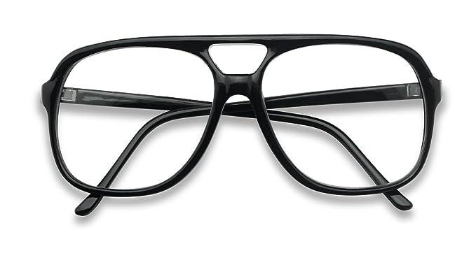 8beee3de87e SunglassUP - XL Oversized Horn Frame Optical Rx +1.00 thru +3.50 Reading  Glasses (