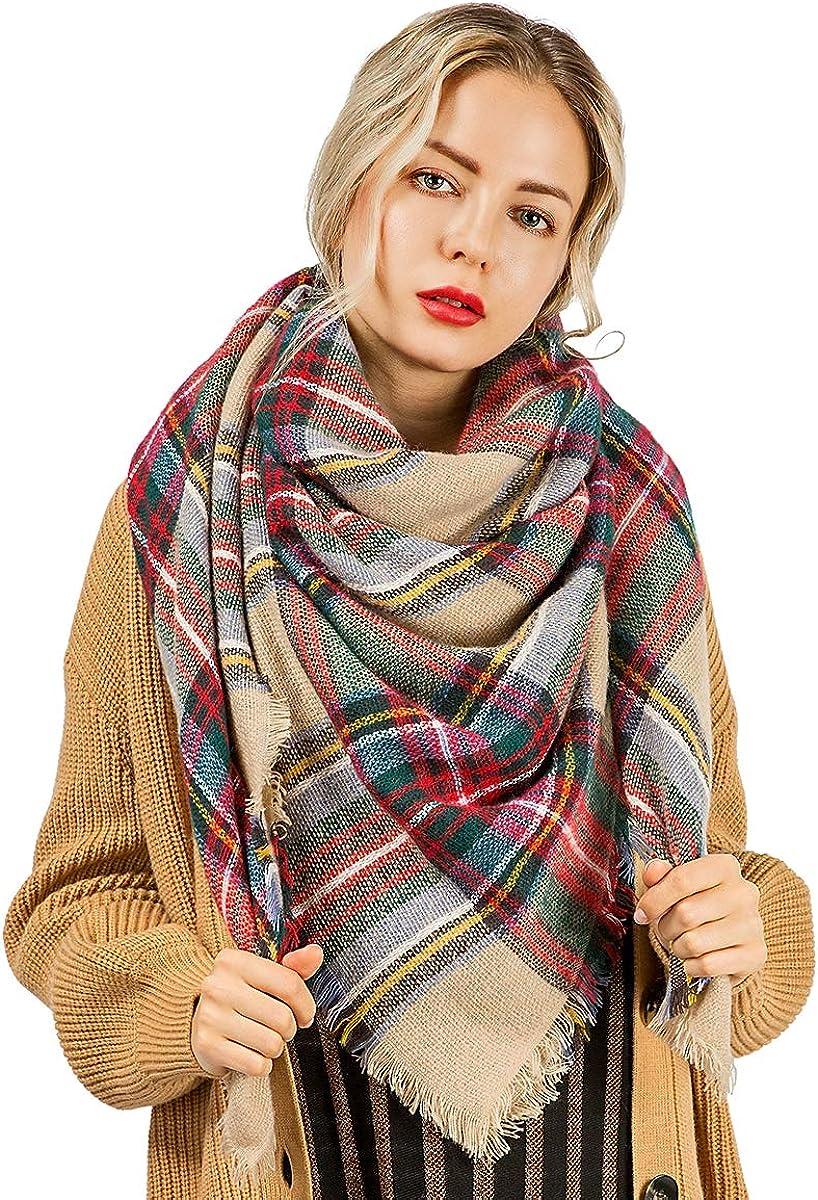 Winter Scarf Blanket Warm...